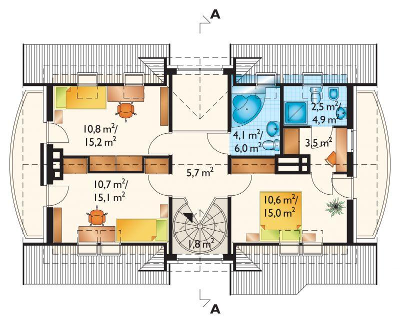Проект дома Атташе (E-132)