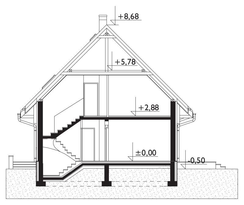 Проект дома Звонок (E-135)