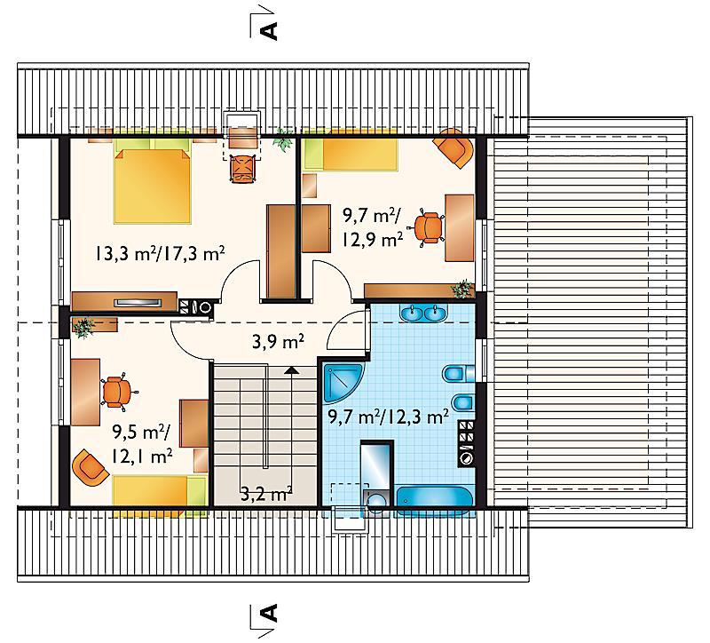 Проект дома Ева Нео (E-1141)