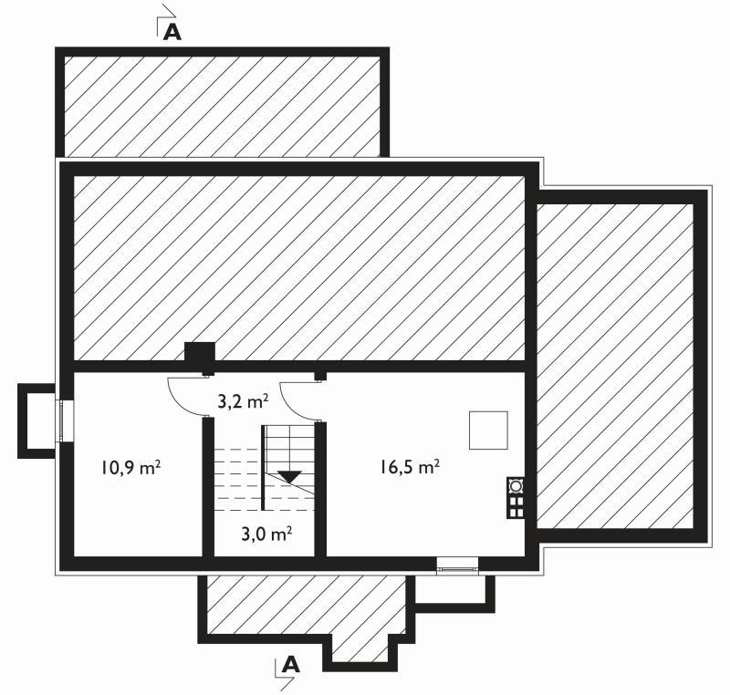 Проект дома Ева с подвалом (E-749)