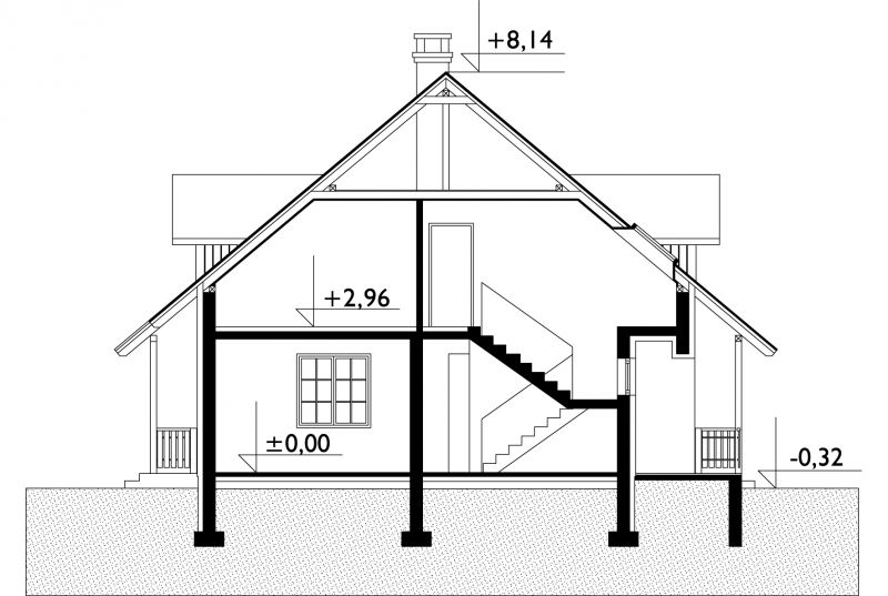 Проект дома Фаустин (E-146)