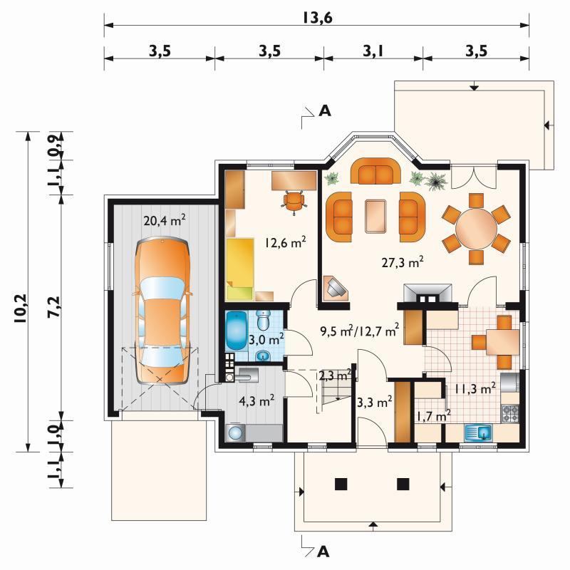 Проект дома Фига (E-578)