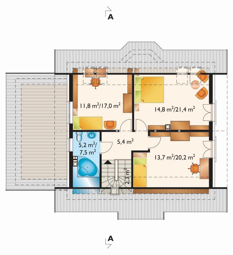 Проект дома Фига Эко (E-797)