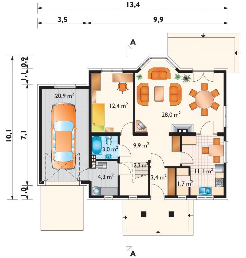 Проект дома Фига Дуо (E-773)