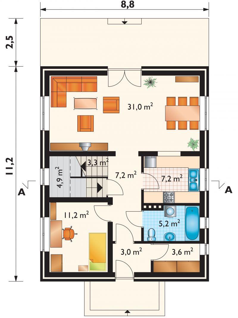 Проект дома Фикус (E-148)