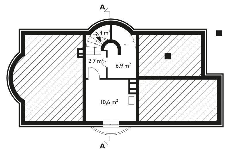 Проект коттеджа Тюлень (E-154)