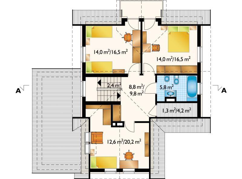 Проект дома Желание (E-155)