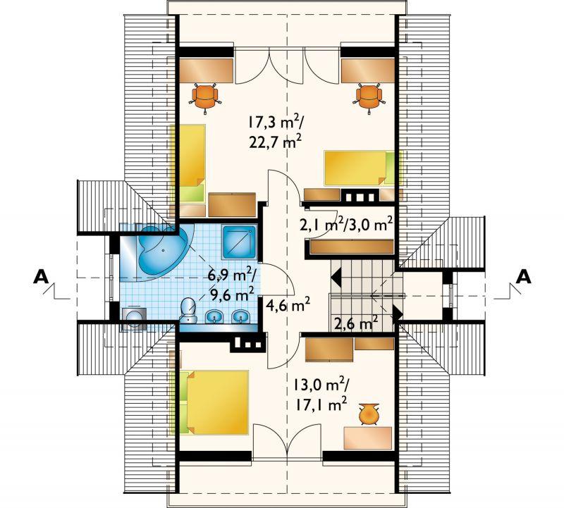 Проект дома Баллада (E-161)