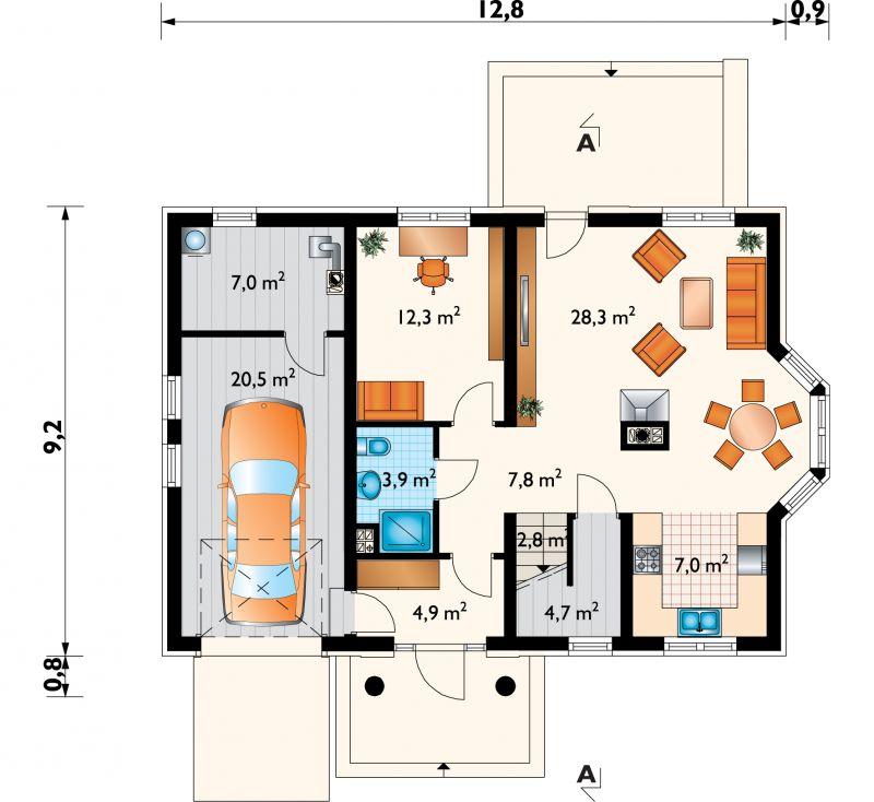 Проект дома Гала Люкс (E-860)