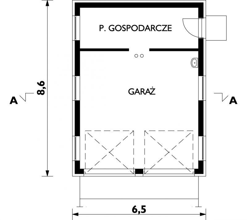 Проект Гараж 32 - зеркальное отражение (E-647)
