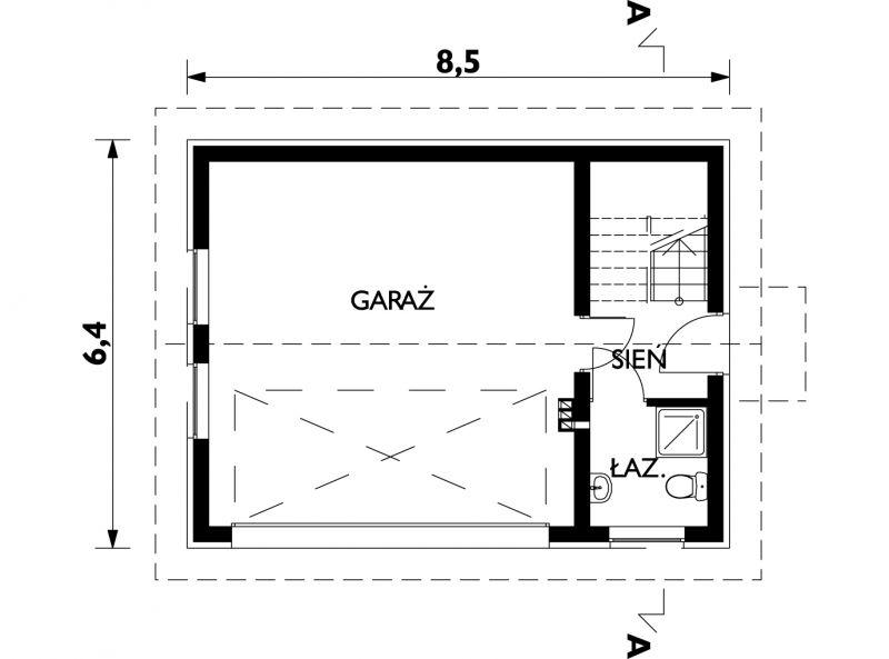 Проект Гараж ЖЧ-6 - зеркальное отражение (E-648)