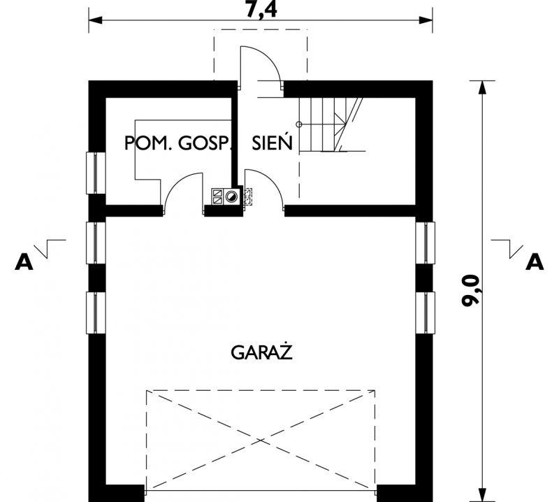 Проект Гараж ЖЧ-8 (E-650)