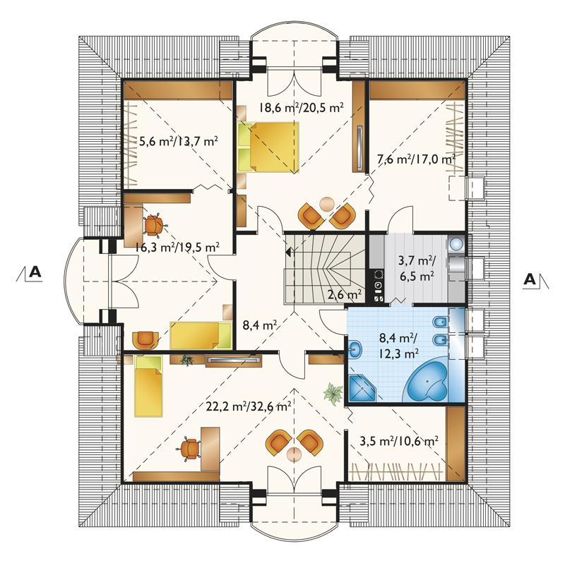 Проект дома Глория Г2 (E-1238)