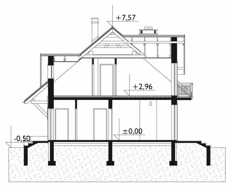 Проект дома Гоздава Пик (E-836)