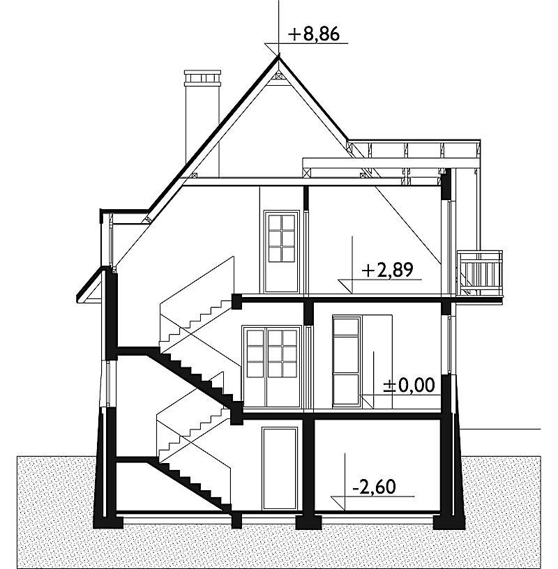 Проект дома Грань (E-179)