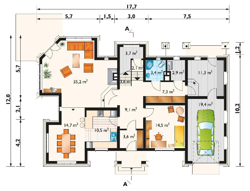 Проект дома Городок (E-182)