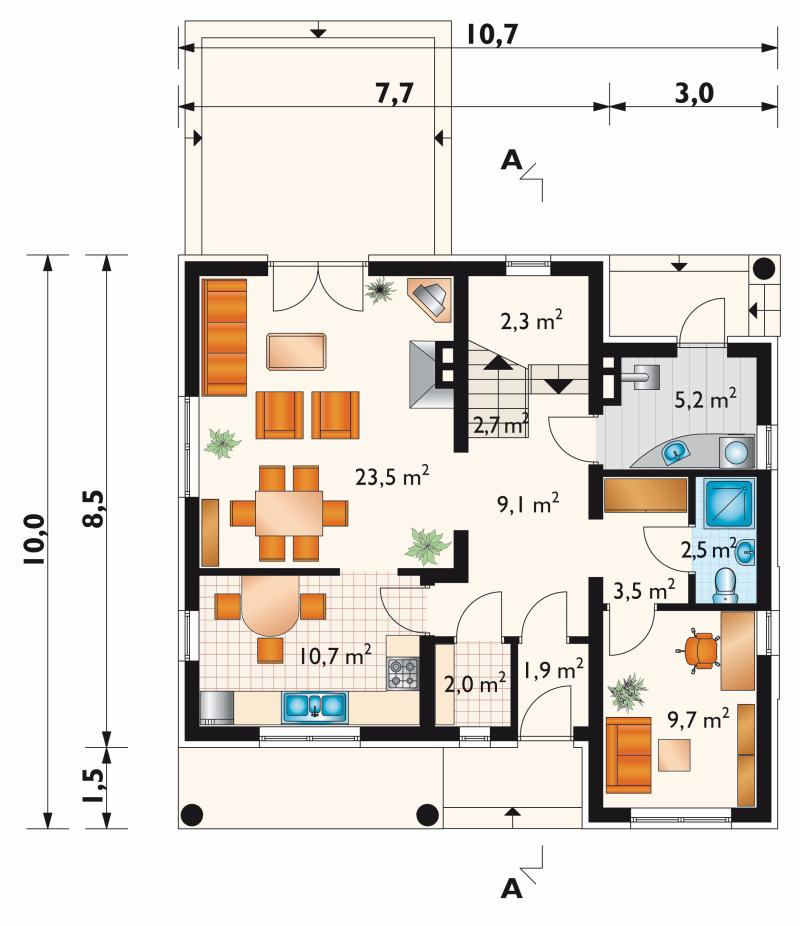 Проект дома Верба (E-185)