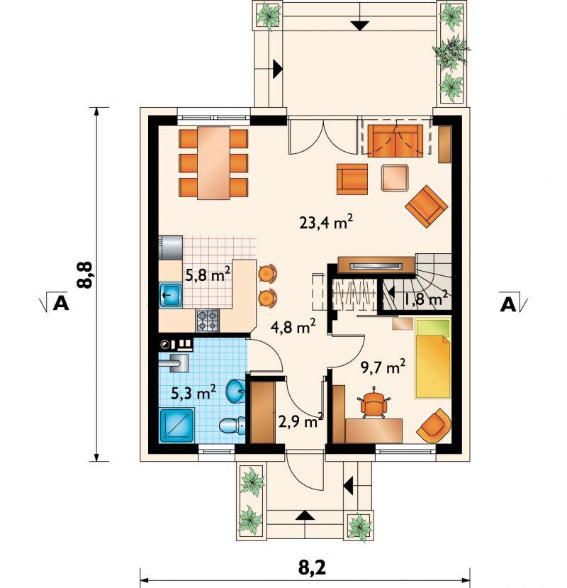 Проект дома Гуток (E-1115)