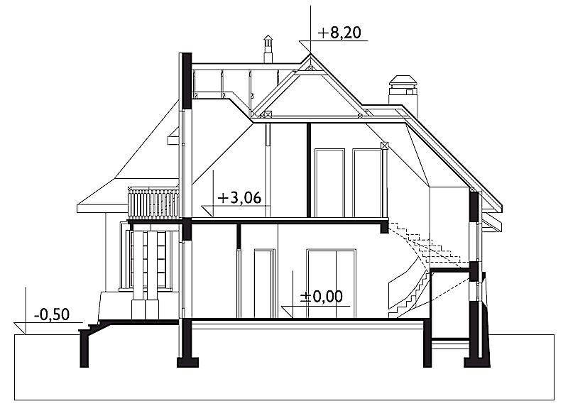 Проект дома Арфа (E-189)