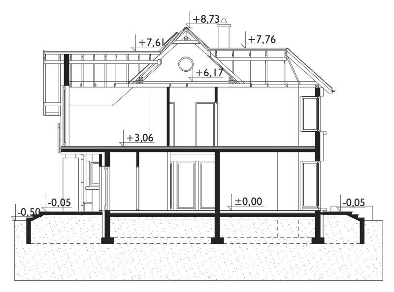 Проект дома Хельга (E-1207)