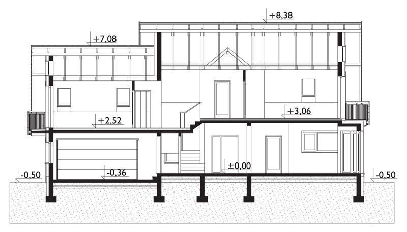 Проект дома Герберт (E-1287)