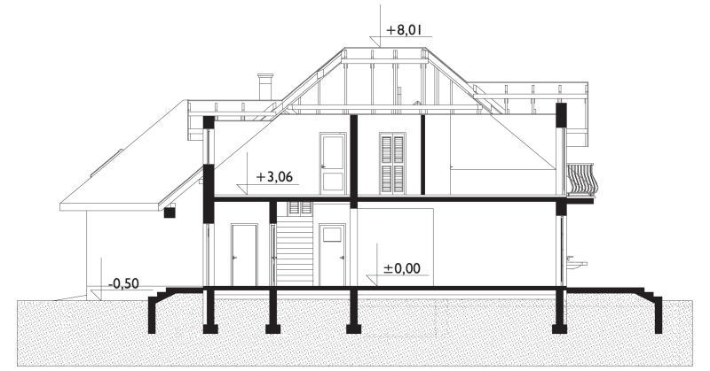 Проект дома Гортензия (E-816)
