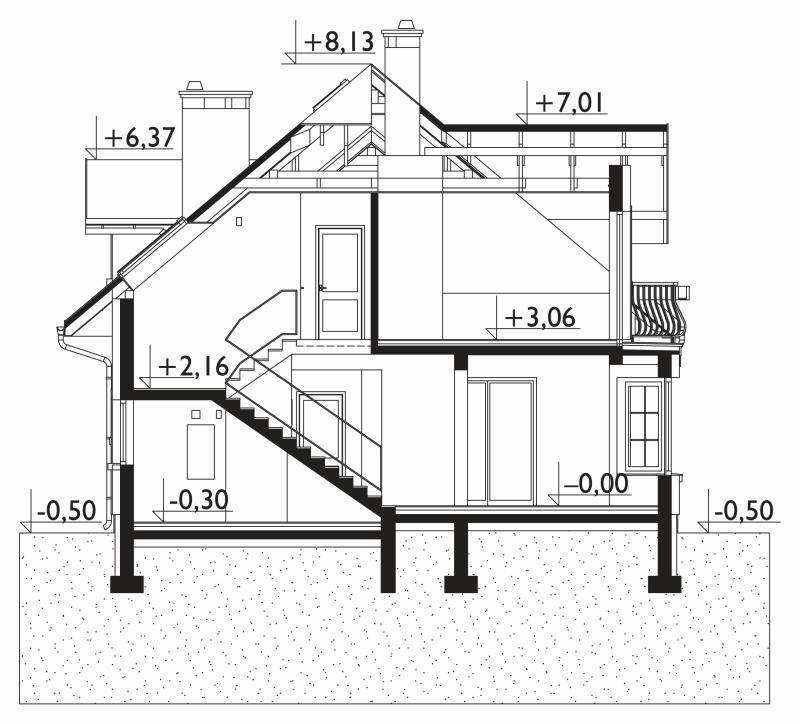 Проект дома Гортензия Поло (E-1079)