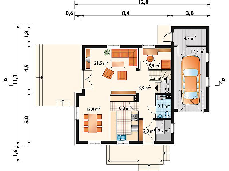 Проект дома Ирга (E-201)