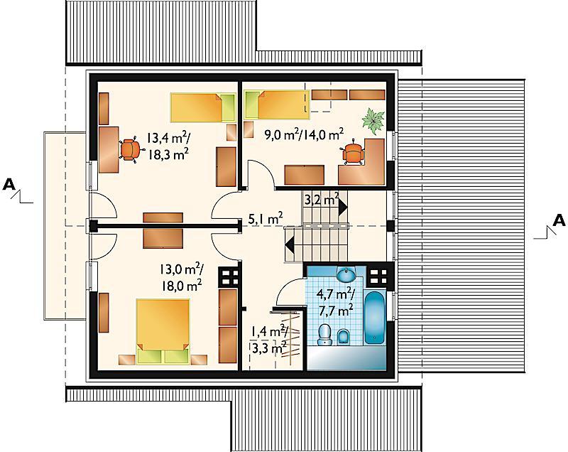 Проект дома Ива (E-204)