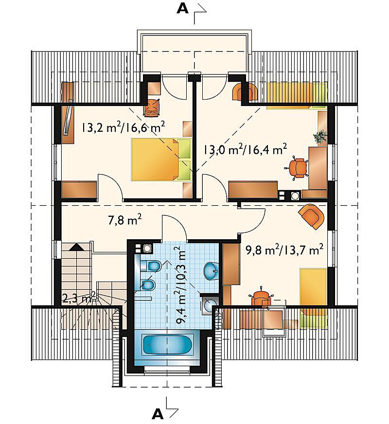 Проект дома Яромир (E-564)