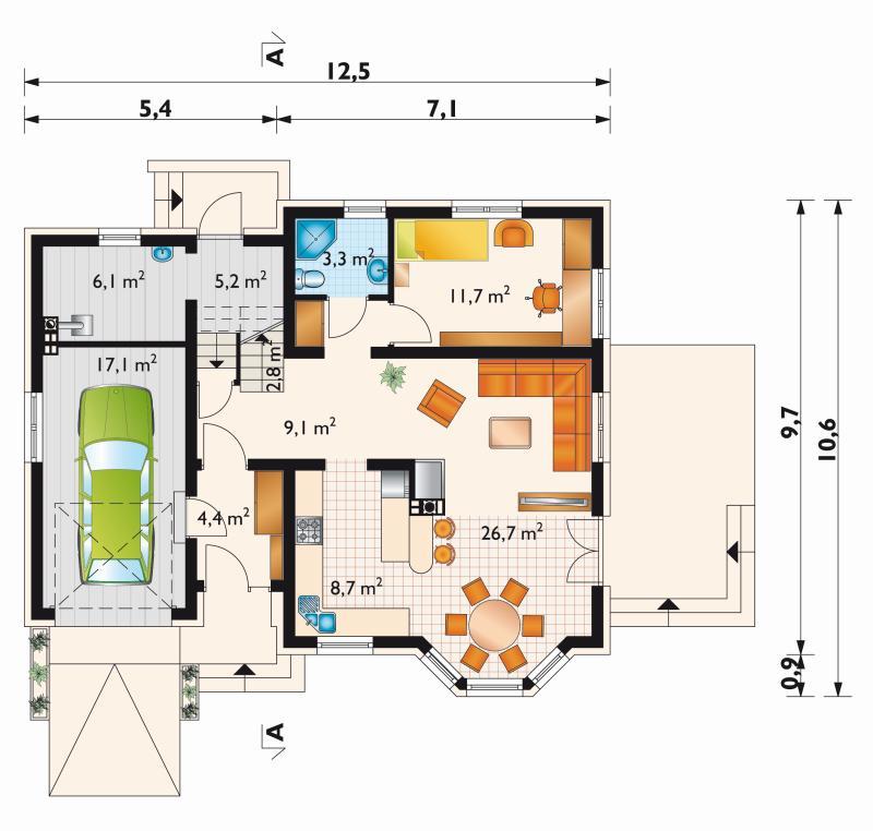 Проект дома Олень Астро (E-990)