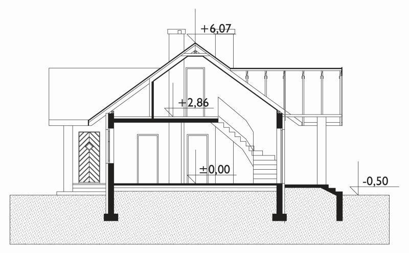 Проект дома Омёла (E-222)