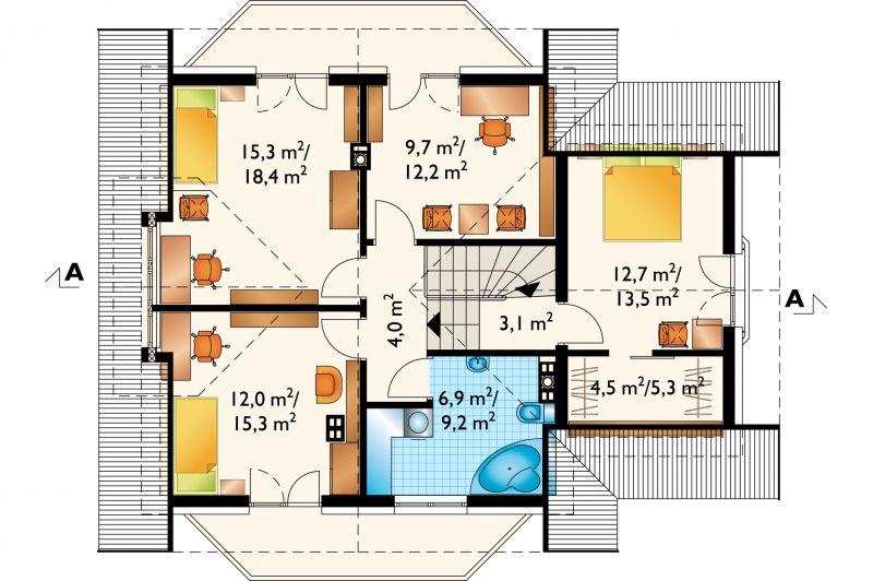 Проект дома Кая Люкс (E-805)