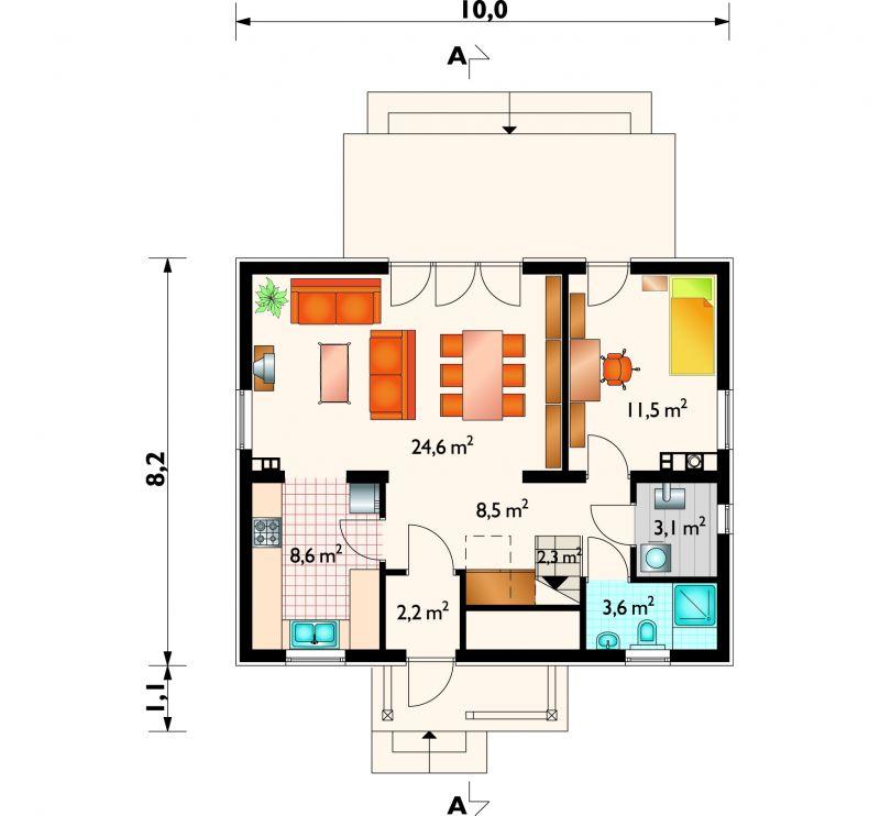 Проект дома Кайко (E-566)