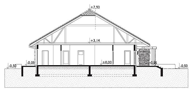 Проект коттеджа Карол (E-1266)