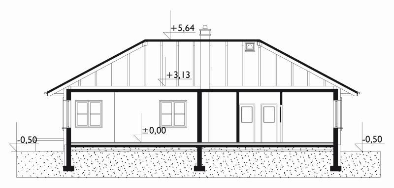 Проект коттеджа Кира (E-927)