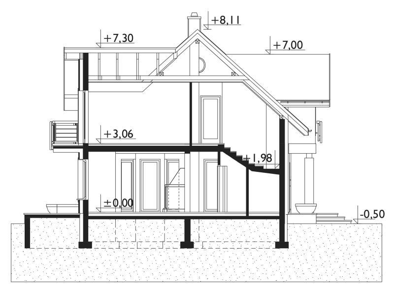 Проект дома Клара Мобиль (E-1144)