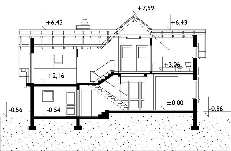 Проект дома Колиба Ату (E-941)