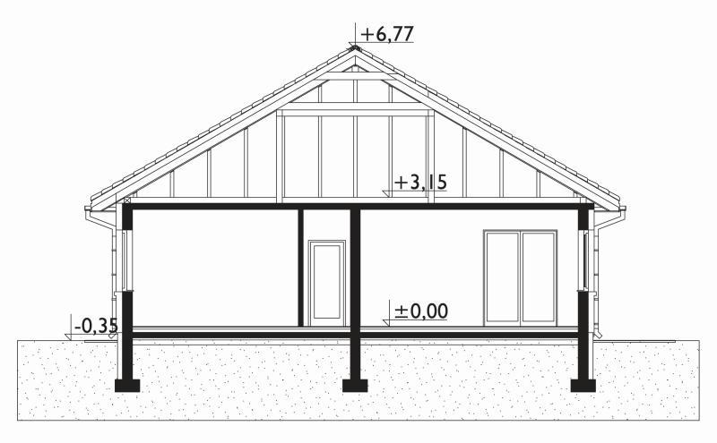 Проект дома Клевер Рекс (E-1258)