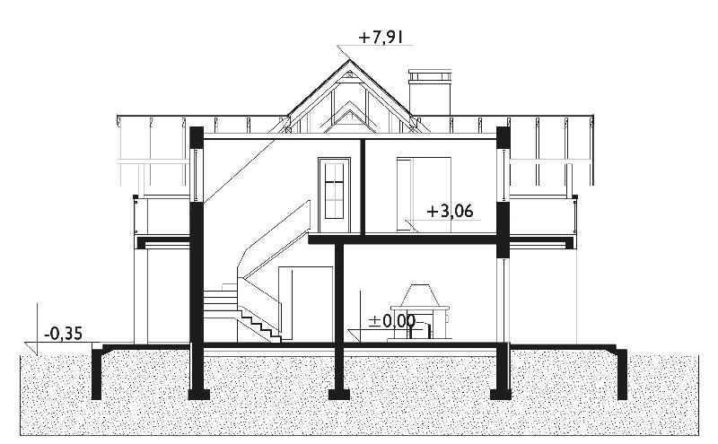Проект дома Конрад (E-689)