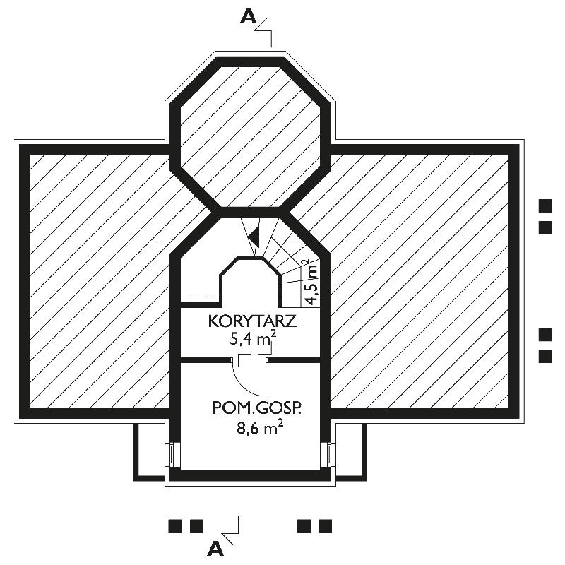 Проект дома Корнелия (E-261)