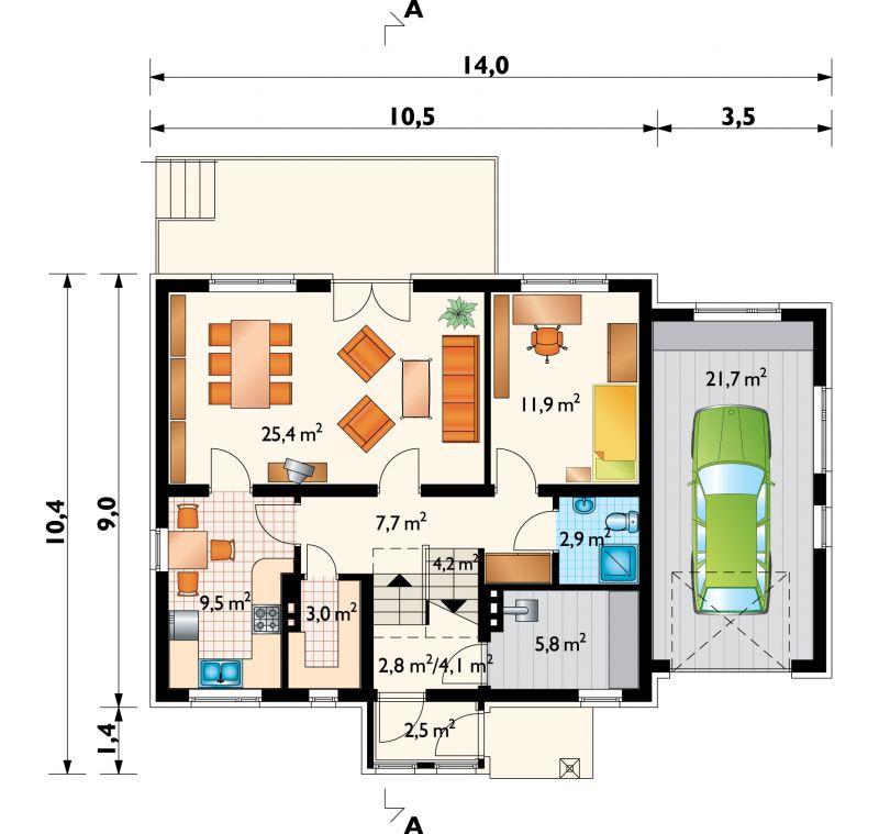 Проект дома Краб - 2 (E-267)