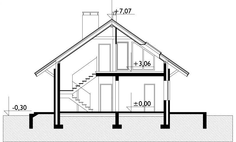 Проект дома Крайка (E-271)