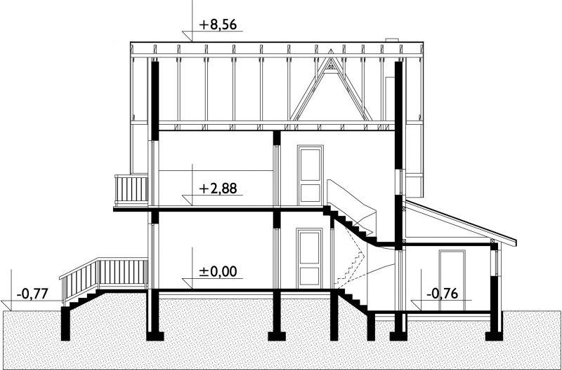 Проект дома Леонардо (E-274)