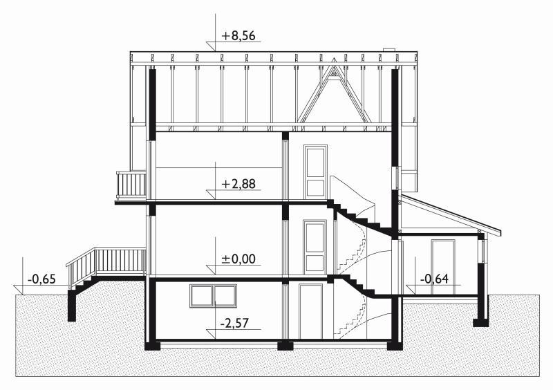 Проект коттеджа Леонардо - 2 (E-275)