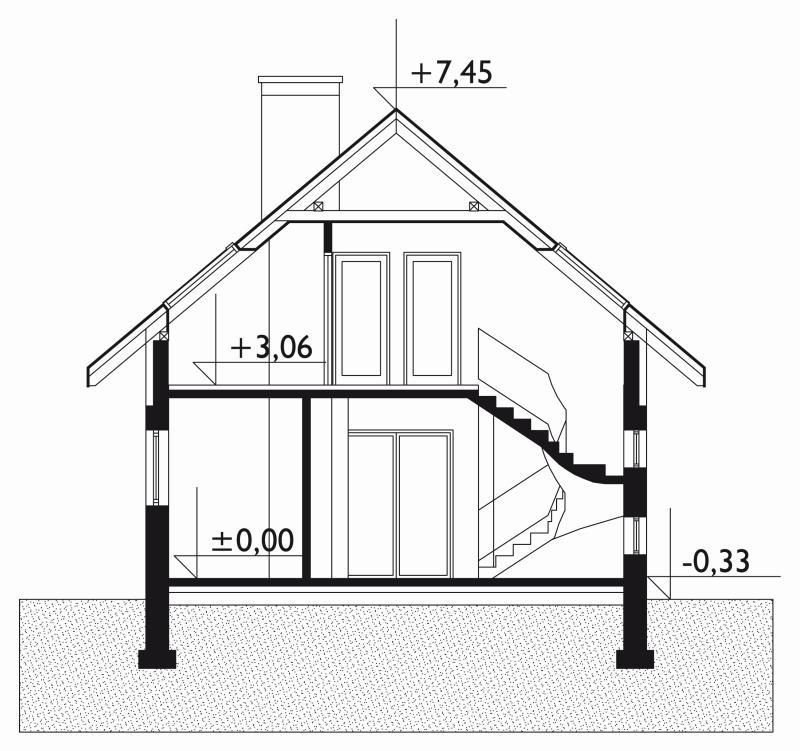 Проект дома Крошка (E-697)