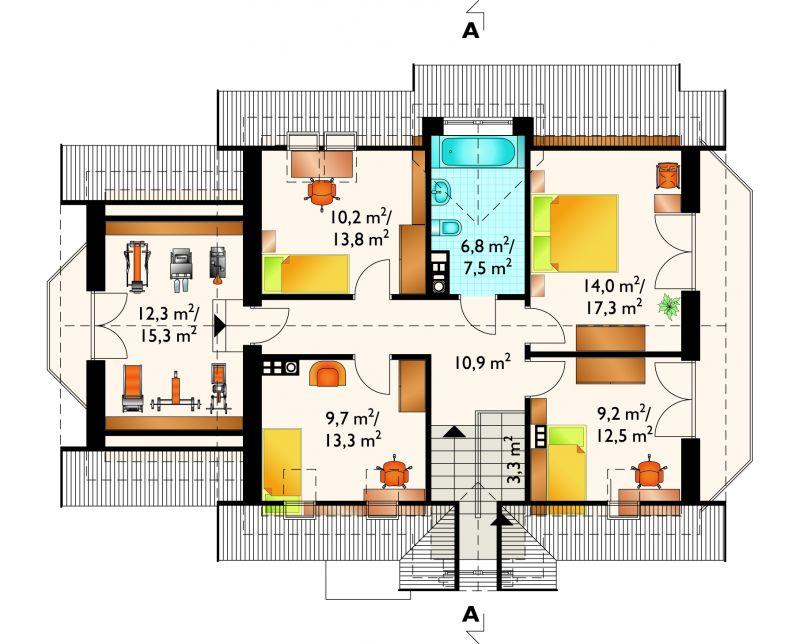 Проект дома Криптон (E-839)