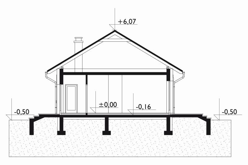 Проект дома Кубус (E-1068)