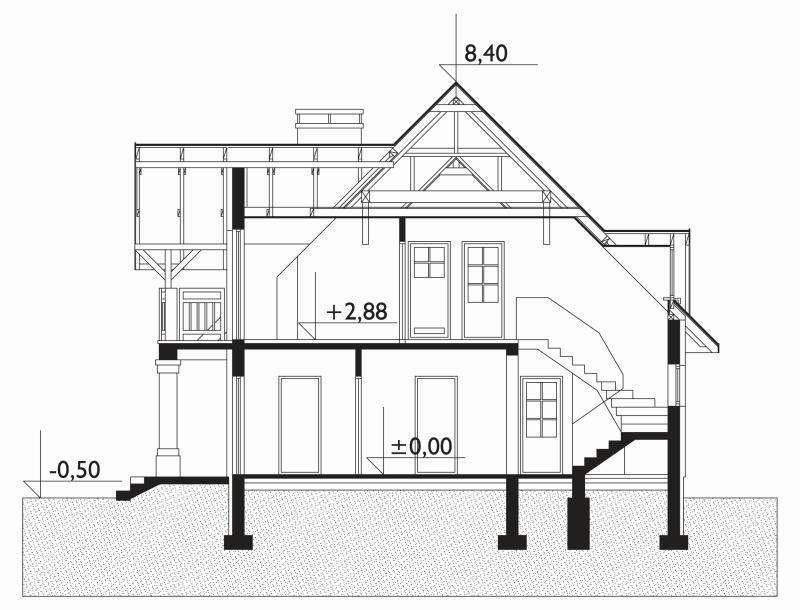 Проект дома Романс (E-286)