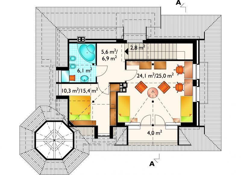 Проект дома Подсолнух (E-287)